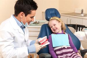 Niños que tienen miedo al dentista